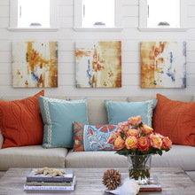 Фотография: Гостиная в стиле Кантри, Декор интерьера, Дом, Дома и квартиры – фото на InMyRoom.ru