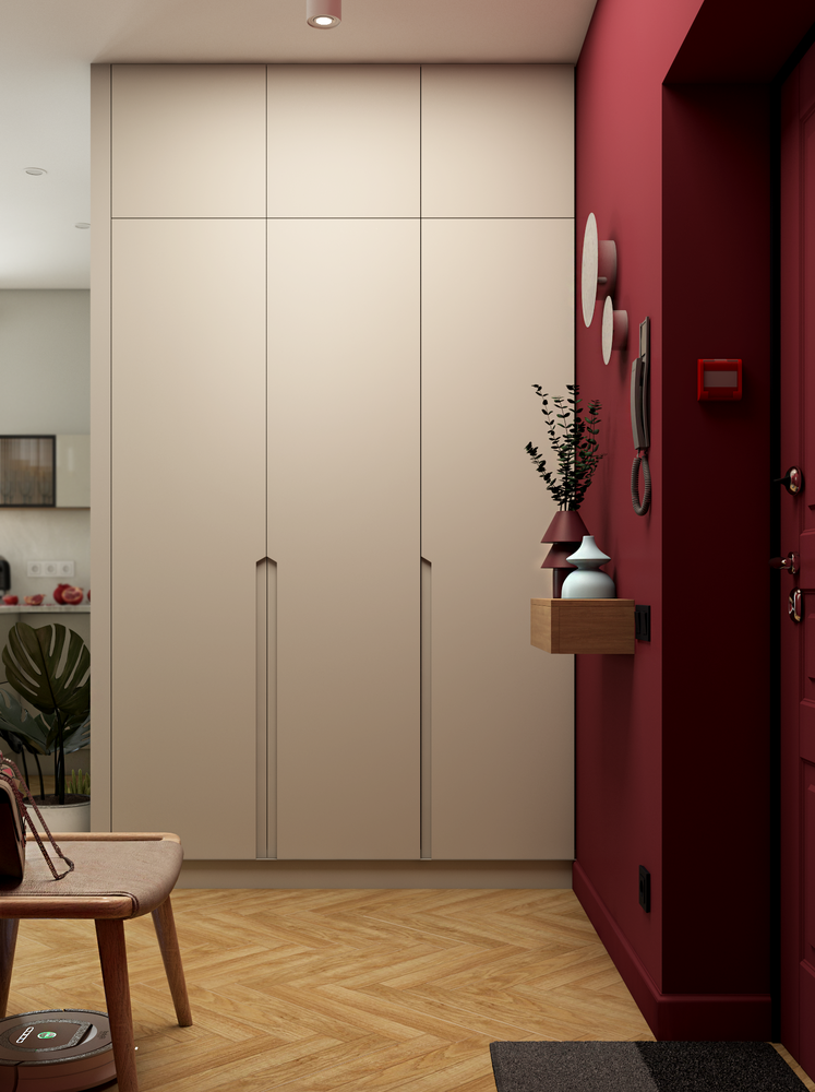 Фотография: Прихожая в стиле Современный, Квартира, Проект недели, Москва, 1 комната, до 40 метров, Ольга Шакирова – фото на INMYROOM