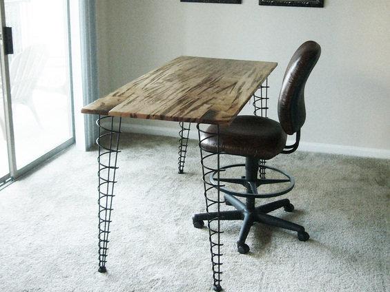 Фотография: Кухня и столовая в стиле Эклектика, Кабинет, Интерьер комнат – фото на InMyRoom.ru