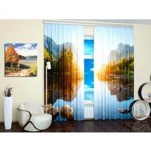 Дизайнерские фотошторы: Чистое озеро