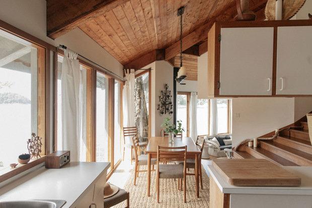 Фотография: Кухня и столовая в стиле Минимализм, Эко, Прованс и Кантри, Белый, Бежевый, Дом и дача – фото на INMYROOM