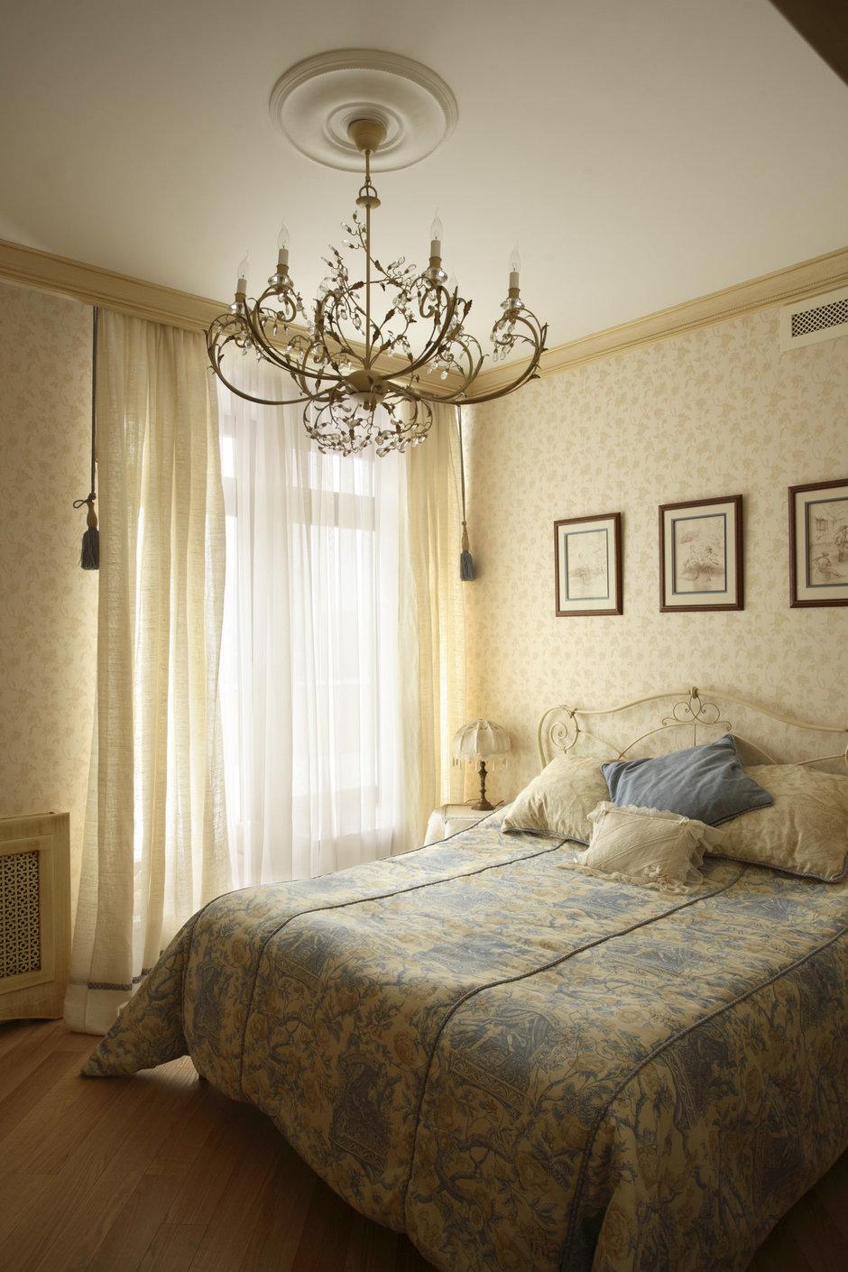 Фотография: Спальня в стиле Прованс и Кантри, Классический, Современный, Квартира, Дома и квартиры, Модерн, Ар-нуво – фото на InMyRoom.ru