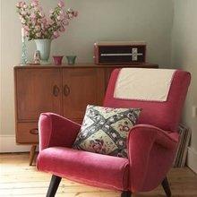 Фотография: Мебель и свет в стиле Кантри, Декор интерьера, Кресло – фото на InMyRoom.ru
