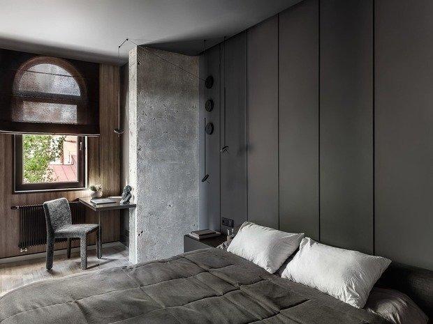 Фотография: Спальня в стиле Лофт, Гид, Co:Interior, Студия 20:18, Александр Кучин, Альберт Багдасарян – фото на INMYROOM