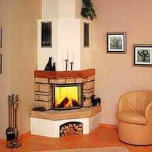 Фотография: Мебель и свет в стиле Кантри, Декор интерьера, Камин – фото на InMyRoom.ru