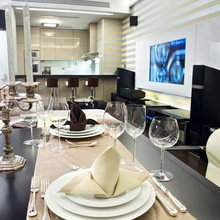 Фотография: Кухня и столовая в стиле Классический, Современный, Декор интерьера, Квартира, Miele, Дома и квартиры – фото на InMyRoom.ru