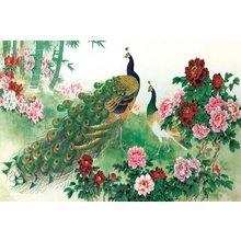Декоративная картина: Изысканный сад