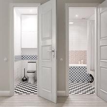 Фотография: Ванная в стиле Скандинавский, Квартира, Дома и квартиры, Проект недели – фото на InMyRoom.ru