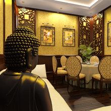Фотография: Кухня и столовая в стиле Современный, Восточный – фото на InMyRoom.ru