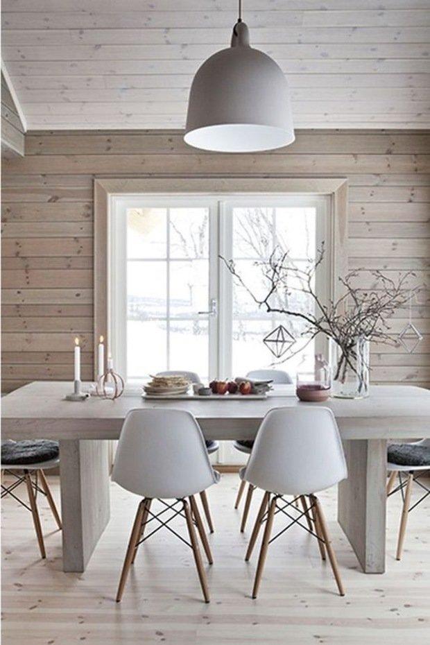 Фотография: Кухня и столовая в стиле Эко, Скандинавский, Гид, лагом, Лонгрид – фото на INMYROOM