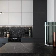 Фото из портфолио Кухня-гостиная 31 м² – фотографии дизайна интерьеров на INMYROOM