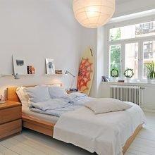 Фотография: Спальня в стиле Скандинавский, Современный, Малогабаритная квартира, Квартира, Швеция, Мебель и свет, Дома и квартиры, Гетеборг – фото на InMyRoom.ru