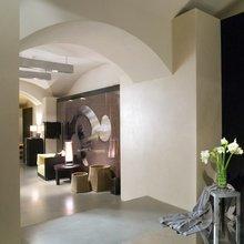 Фотография: Гостиная в стиле Современный, Декор интерьера, Декор дома, Декоративная штукатурка – фото на InMyRoom.ru