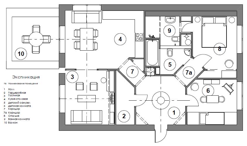 Фотография: Прочее в стиле , Квартира, BoConcept, Дома и квартиры, IKEA – фото на InMyRoom.ru