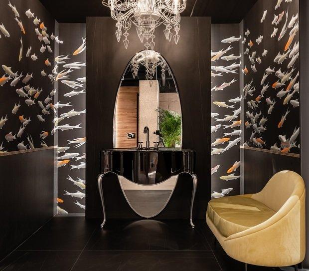 Дизайн: Татьяна Горшкова, интерьер в салоне Globus Ceramica