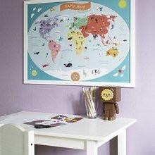 Фото из портфолио Постеры для детской – фотографии дизайна интерьеров на INMYROOM