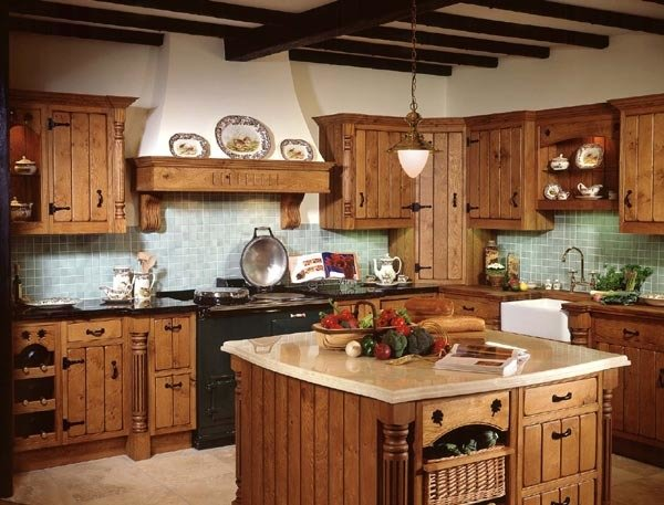 Фотография: Кухня и столовая в стиле Прованс и Кантри, Интерьер комнат, Интерьерная Лавка – фото на InMyRoom.ru