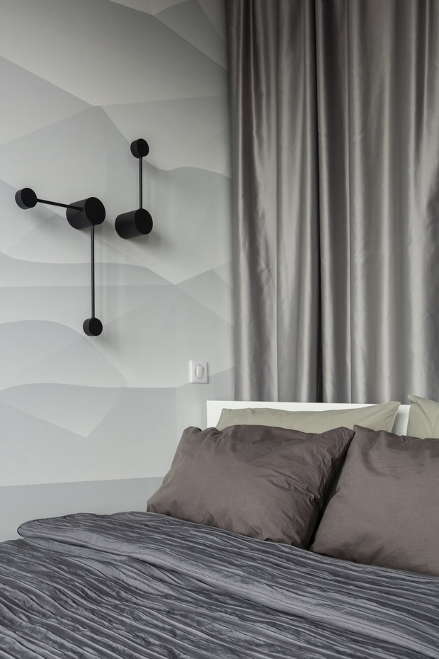 Фотография: Спальня в стиле Лофт, Квартира, Студия, Проект недели, Москва, 1 комната, до 40 метров, 40-60 метров, Влада Загайнова – фото на INMYROOM
