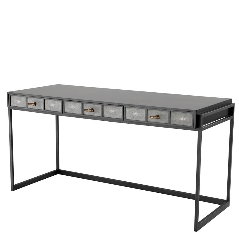 Купить Письменный стол Eichholtz Desk Paco из дерева на металлическом основании, inmyroom, Нидерланды