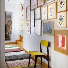 Фотография: Прихожая в стиле Скандинавский, Эклектика, Квартира, Дома и квартиры – фото на InMyRoom.ru