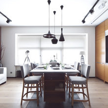 Фотография: Кухня и столовая в стиле Лофт, Скандинавский, Современный – фото на InMyRoom.ru