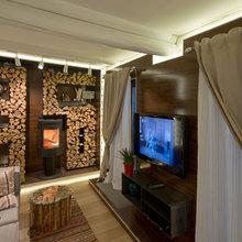 Фото из портфолио Дрова в Доме – фотографии дизайна интерьеров на InMyRoom.ru