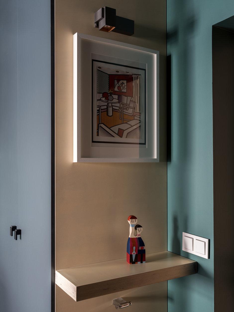 Фотография:  в стиле , Малогабаритная квартира, Квартира, Студия, Проект недели, Москва, до 40 метров, Юлия Шмидт, Александра Таранова, Петровский Апарт Хаус – фото на InMyRoom.ru