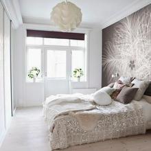 Фотография: Спальня в стиле Скандинавский, Советы, фотообои в интерьере – фото на InMyRoom.ru