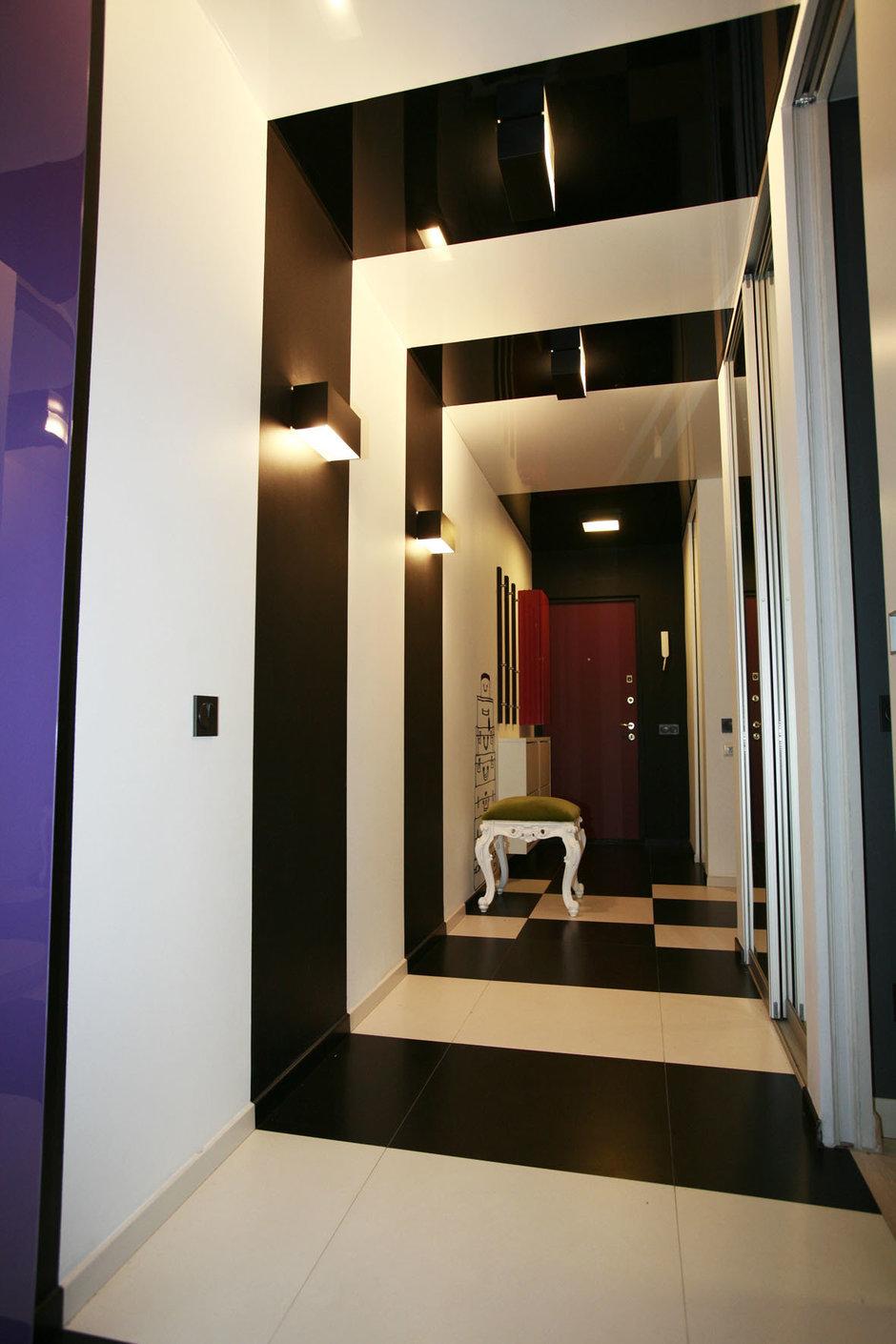Фотография: Прихожая в стиле Эклектика, Квартира, Дома и квартиры, Перепланировка, Ремонт – фото на InMyRoom.ru