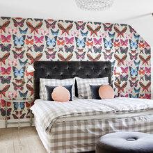 Фото из портфолио Яркий Пентхаус класса люкс с красочными обоями – фотографии дизайна интерьеров на INMYROOM