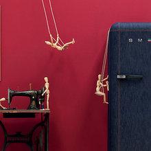 Фото из портфолио Джинсовый холодильник – фотографии дизайна интерьеров на INMYROOM