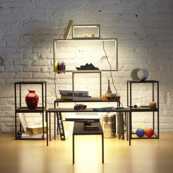 Фотография: Мебель и свет в стиле Лофт, Декор интерьера, Малогабаритная квартира, Квартира, Дома и квартиры – фото на InMyRoom.ru