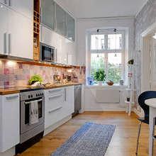 Фотография: Кухня и столовая в стиле Кантри, Декор интерьера, Квартира, Дом, Интерьер комнат, Цвет в интерьере, Белый – фото на InMyRoom.ru