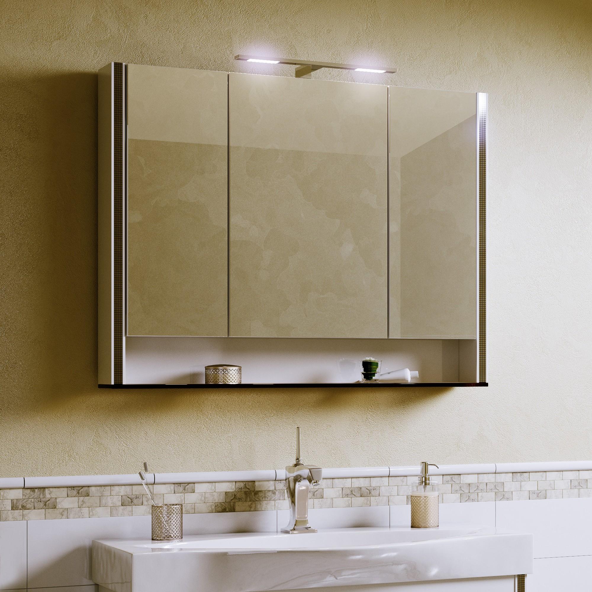 Шкаф зеркальный Layra 100