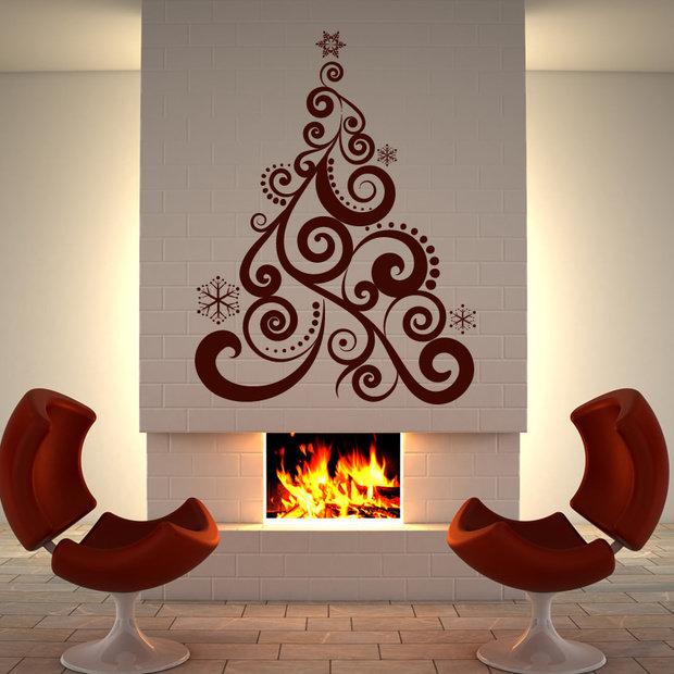 Фотография: Декор в стиле Эклектика, Декор интерьера, Праздник, Новый Год – фото на InMyRoom.ru