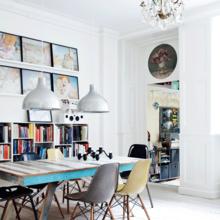 Фото из портфолио Роскошная квартира с оригинальными особенностями – фотографии дизайна интерьеров на INMYROOM