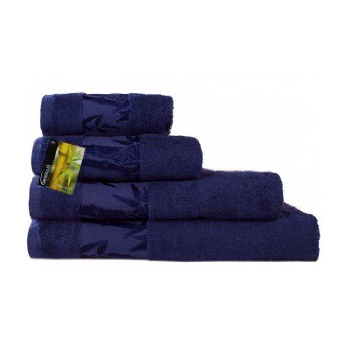 Полотенце Бамбук 70х140 синий