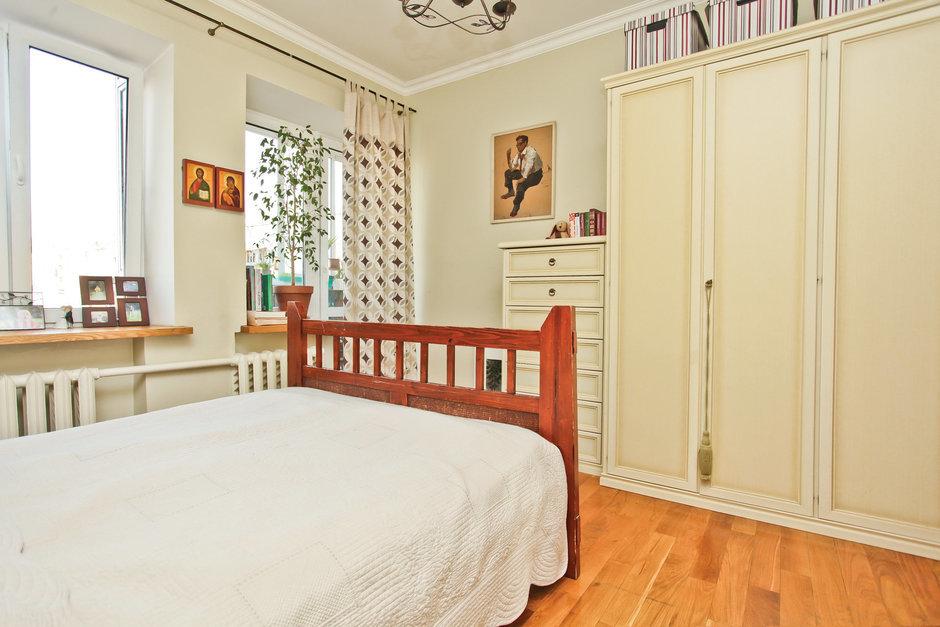 Фотография: Спальня в стиле Прованс и Кантри, Квартира, Дома и квартиры, Перепланировка – фото на InMyRoom.ru
