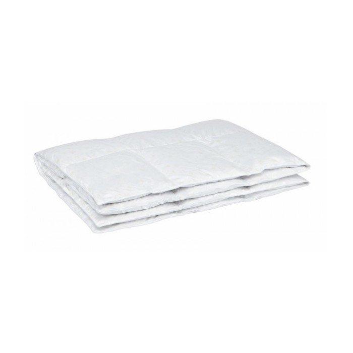 Одеяло пуховое кассетное легкое двухспальное Афродита