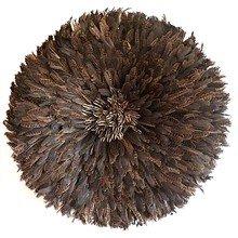 Камерунская шляпа  большая (75 см) Из перьев дикой куропатки