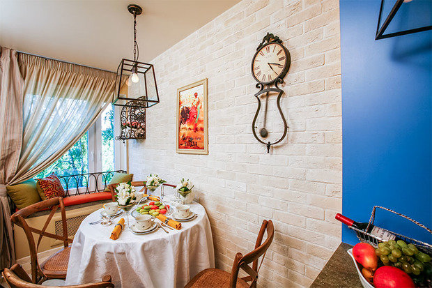 Фотография: Кухня и столовая в стиле Прованс и Кантри, Современный, Декор интерьера, Интерьер комнат – фото на InMyRoom.ru