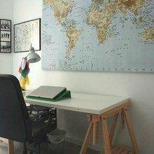 Фотография: Кабинет в стиле Современный, Испания, Дизайн интерьера, Ретро, Средиземноморский, Футуризм – фото на InMyRoom.ru