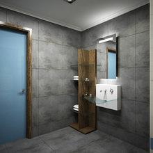 Фотография: Ванная в стиле Лофт – фото на InMyRoom.ru