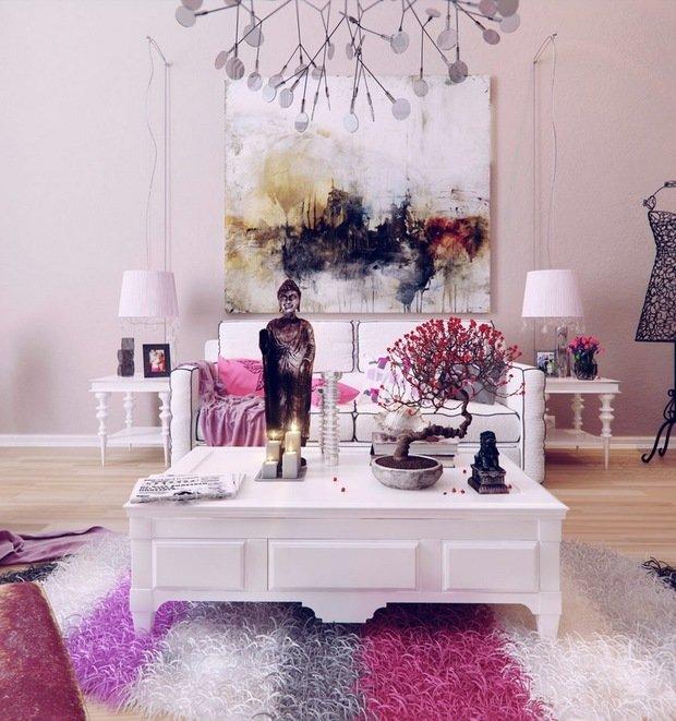 Фотография: Гостиная в стиле Прованс и Кантри, Восточный, Декор интерьера, Декор дома – фото на InMyRoom.ru