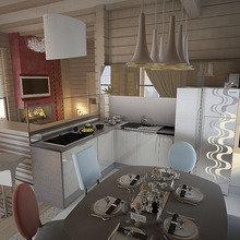 Фото из портфолио Баня-временный дом – фотографии дизайна интерьеров на INMYROOM
