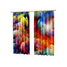 Яркие фотошторы: Цветные облака
