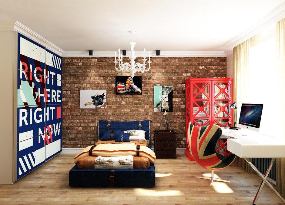 Фотография: Спальня в стиле Лофт, Квартира, Проект недели, Эко – фото на InMyRoom.ru