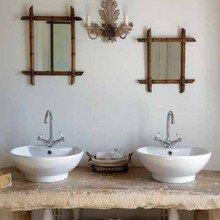 Фотография: Ванная в стиле Кантри, Восточный, Интерьер комнат – фото на InMyRoom.ru