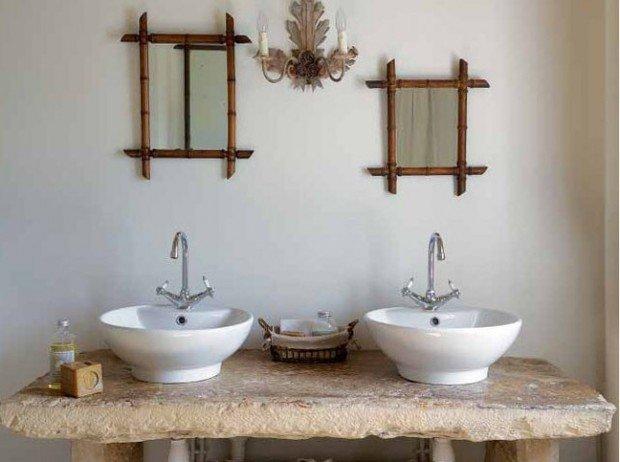Фотография: Ванная в стиле Прованс и Кантри, Восточный, Интерьер комнат – фото на InMyRoom.ru