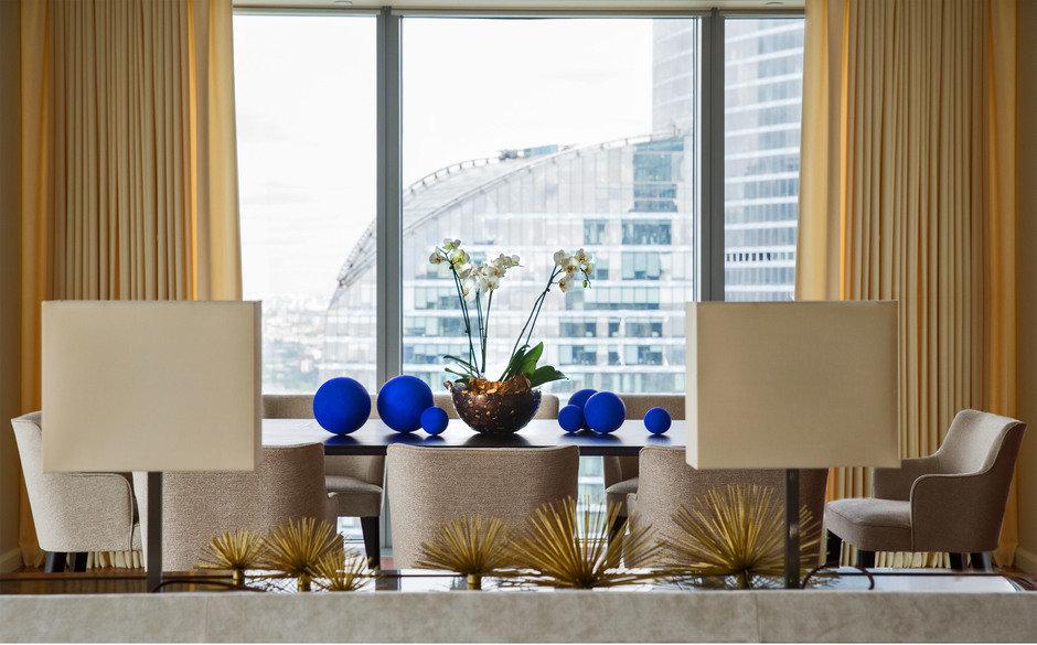Фотография: Гостиная в стиле Современный, Квартира, Проект недели, Москва, Марина Филиппова, Монолитный дом, 3 комнаты, Более 90 метров, #эксклюзивныепроекты – фото на InMyRoom.ru